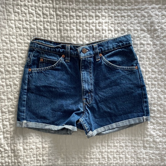 SOLD. Levi's High Waisted Shorts